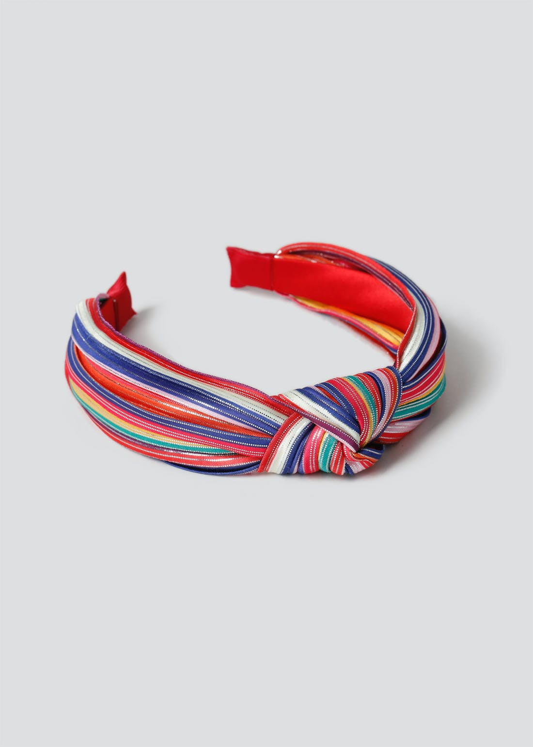 Girls Rainbow Knot Headband