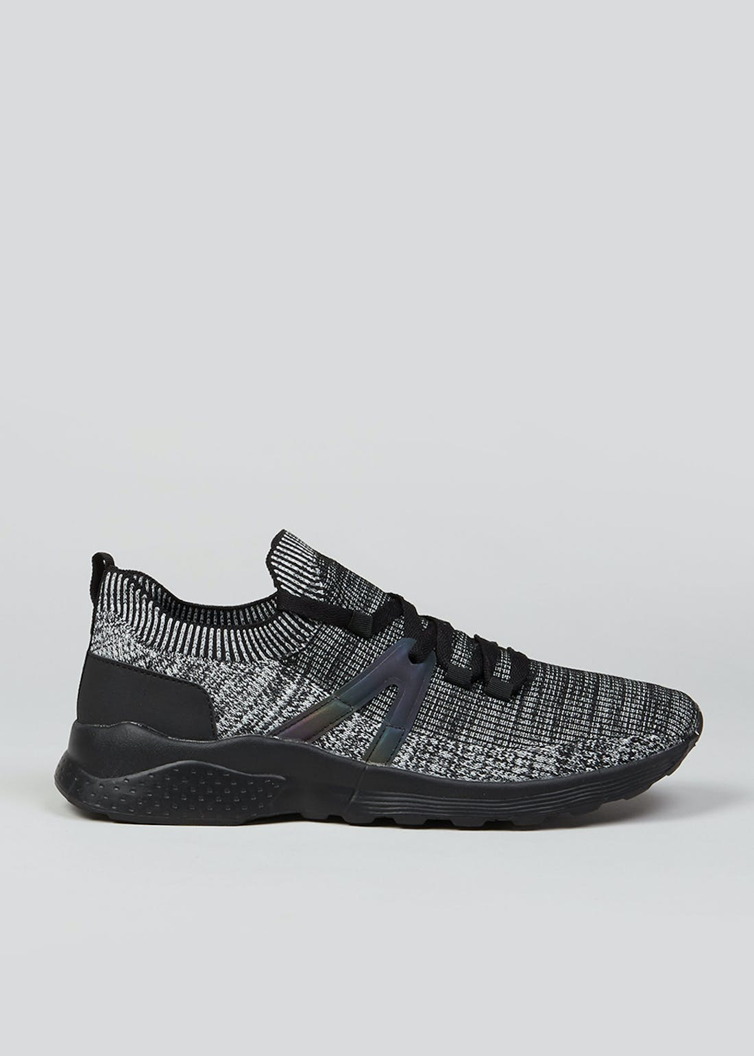 Souluxe Black Sports Trainers
