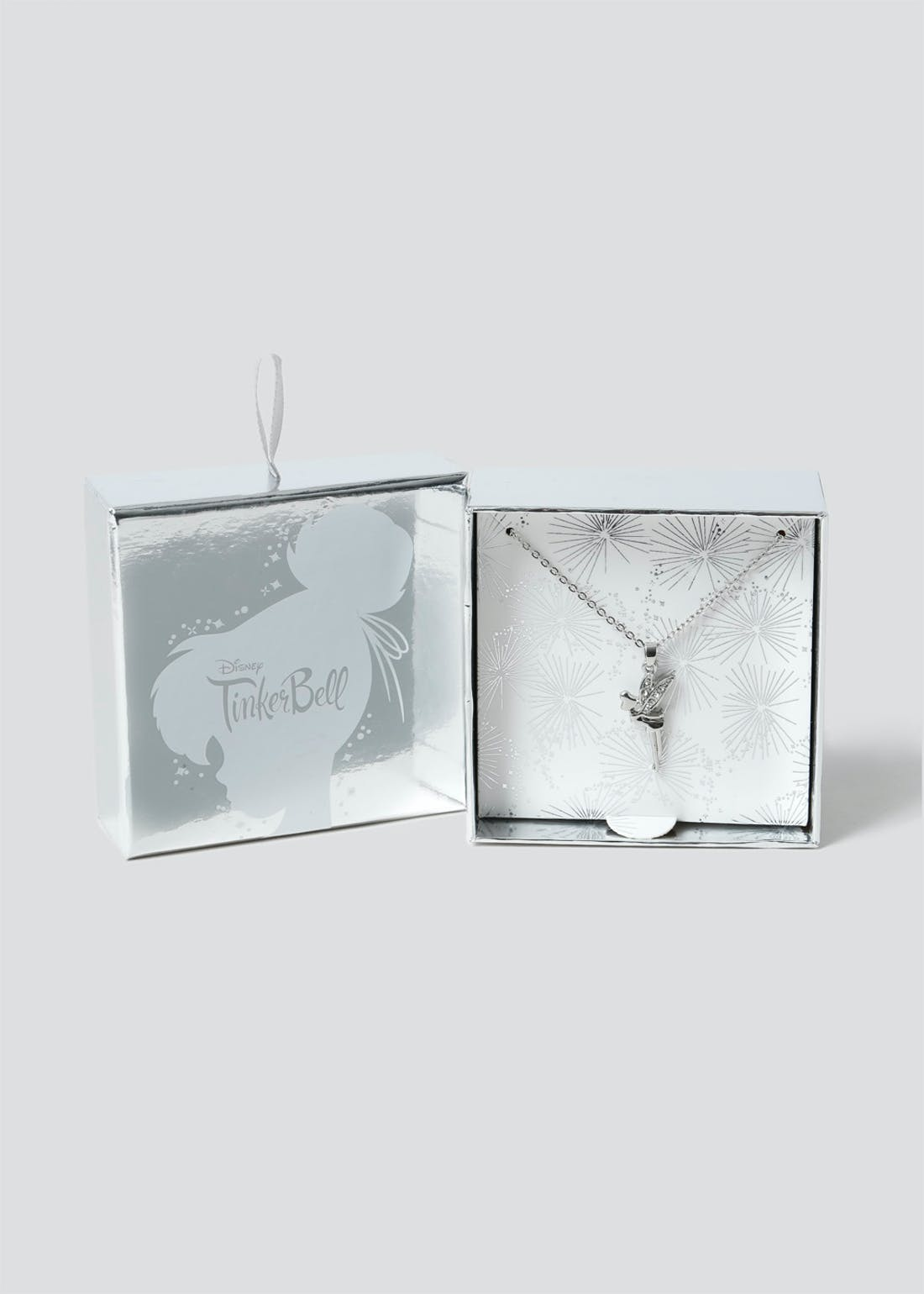 Disney Tinker Bell Bell Necklace Gift Box.