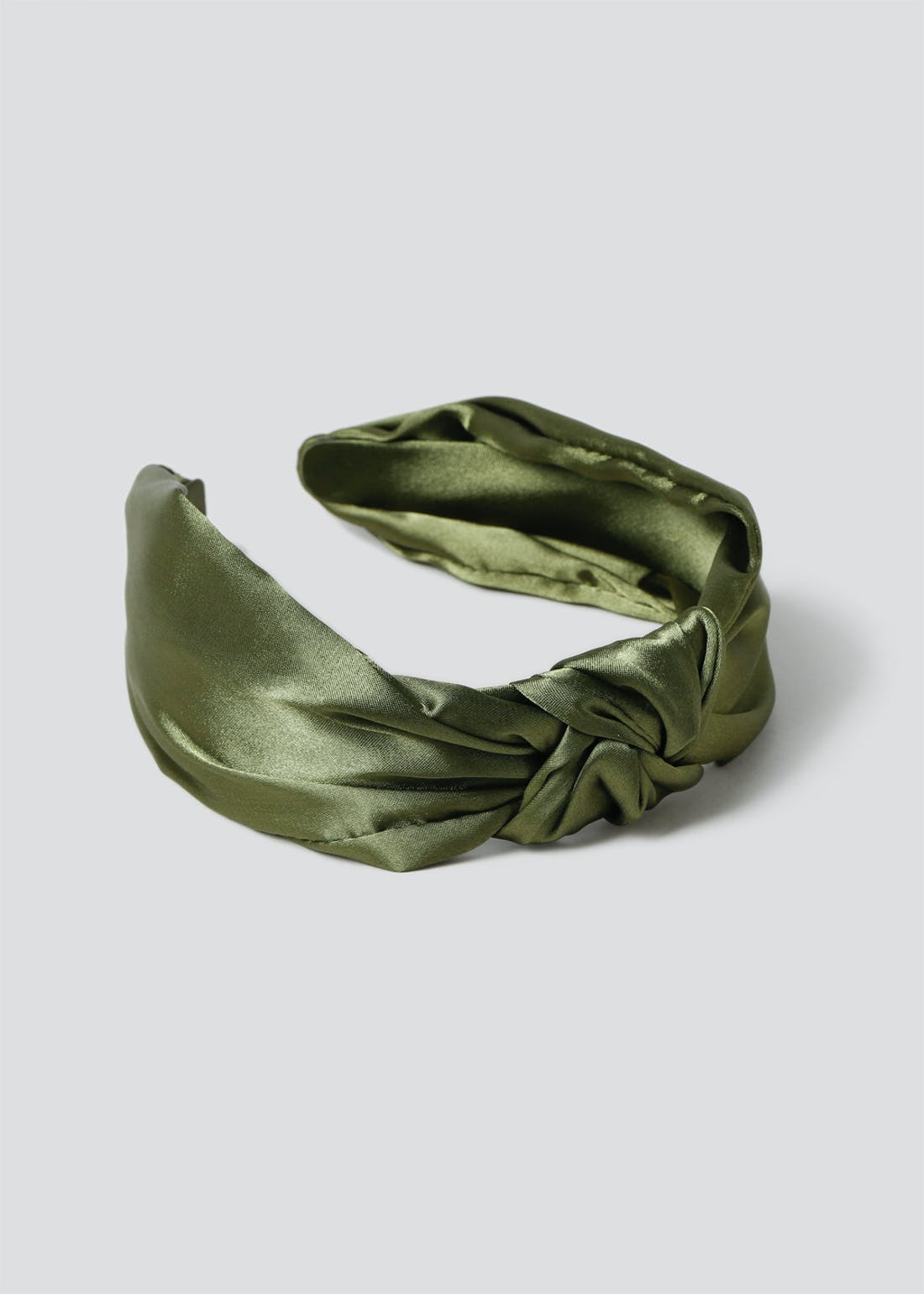 Satin Knot Alice Band.