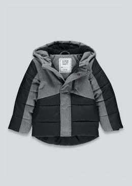 Boys Padded Hooded Jacket (4-13yrs)