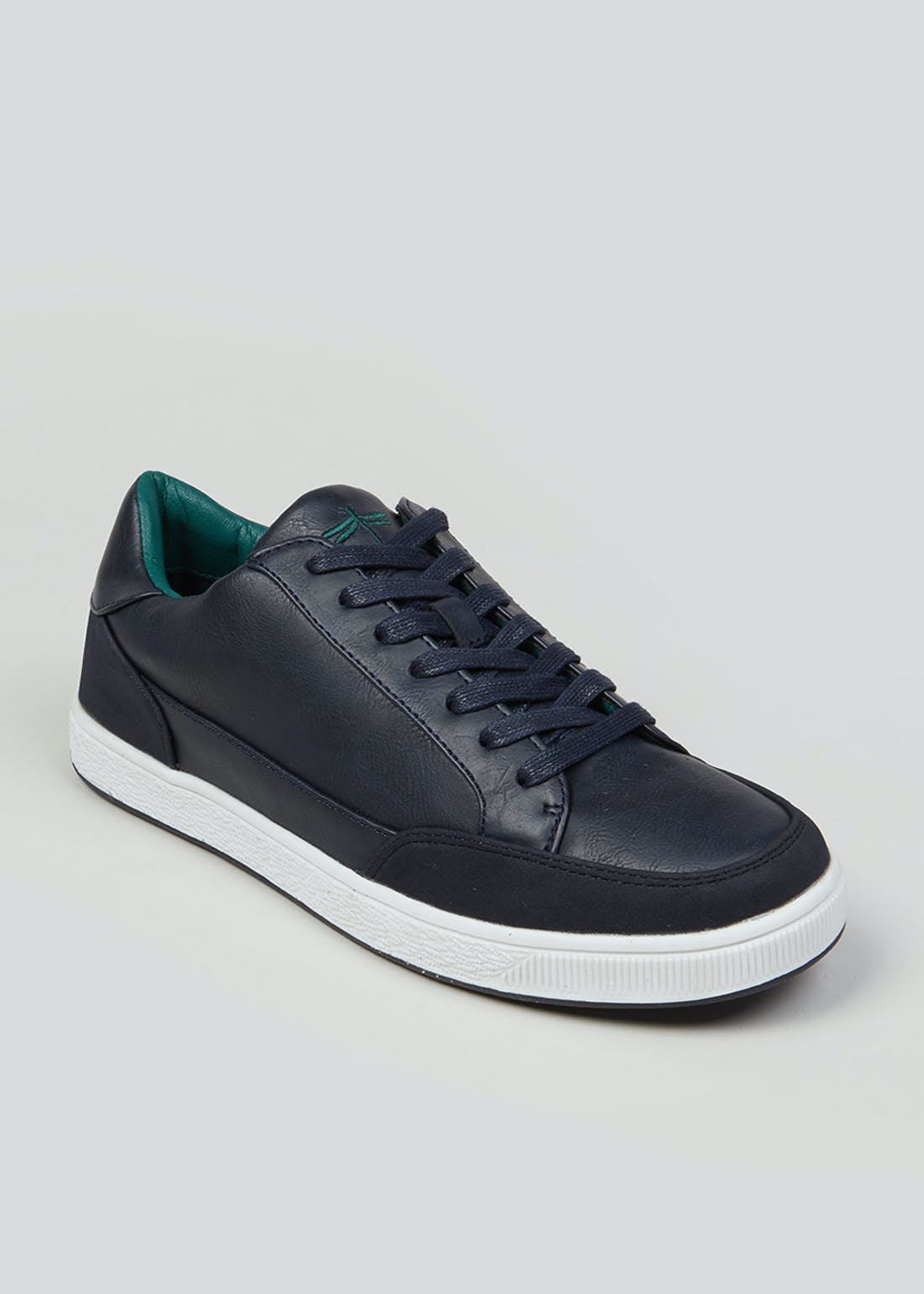 Navy Cupsole Trainers