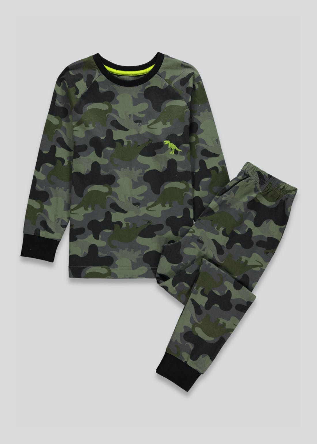Kids Dinosaur Camo Pyjama Set (4-9yrs)