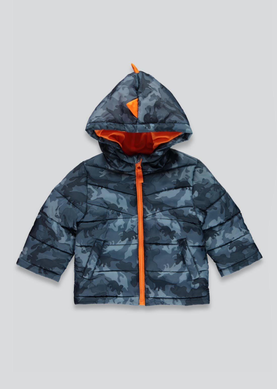Unisex 3D Dinosaur Spike Coat (9mths-6yrs)
