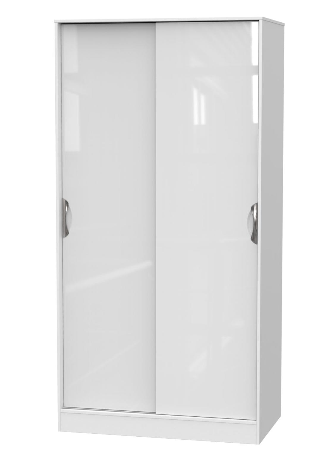 Swift Bordeaux Sliding Door Wardrobe (197.5cm x 100.5cm x 60cm)
