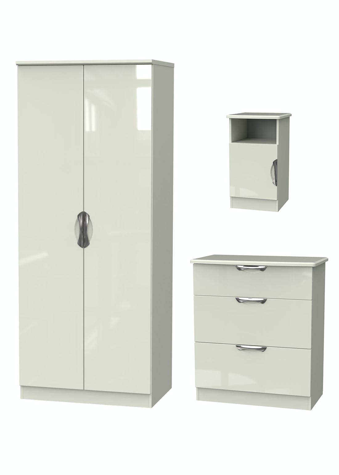 Swift Bordeaux 3 Piece Bedroom Furniture Collection