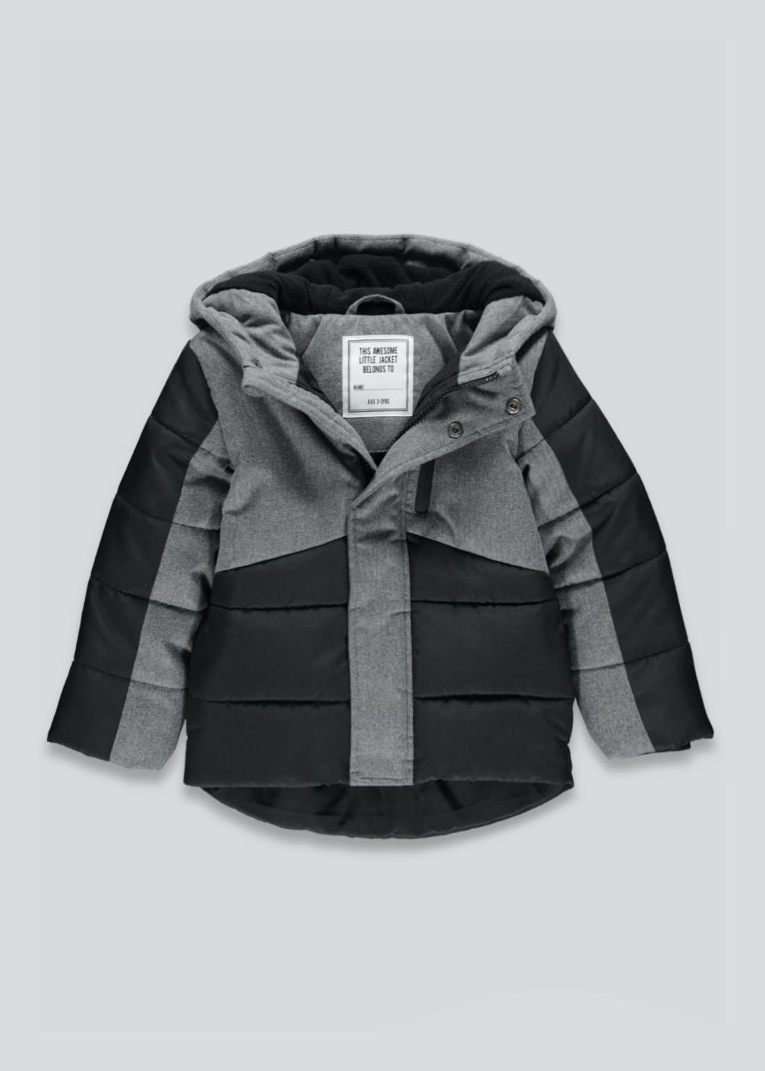 Boys Hooded Parka Coat (9mths-4yrs)