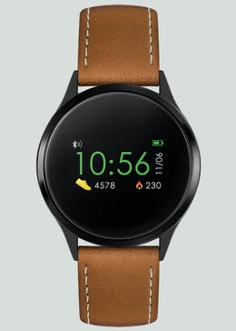 Reflex Active Smart Watch with Tan Strap