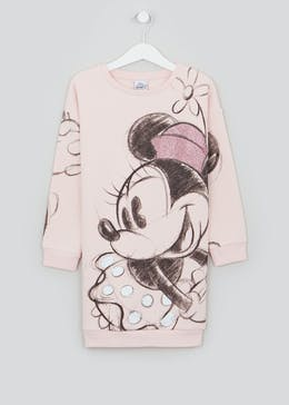 Girls Disney Minnie Mouse Sweater Dress (2-9yrs)