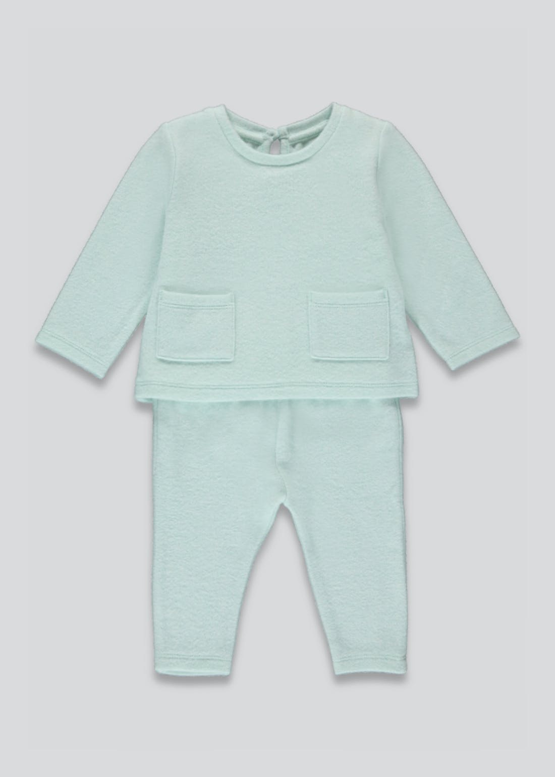 Unisex Knitted 2 Piece Set (Tiny Baby-23mths)