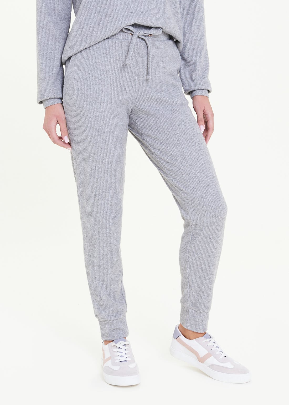 Ribbed Soft Touch Joggers