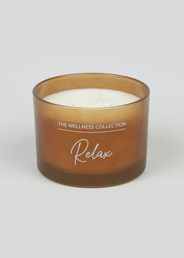 Relax Lavender & Orris Scented Candle