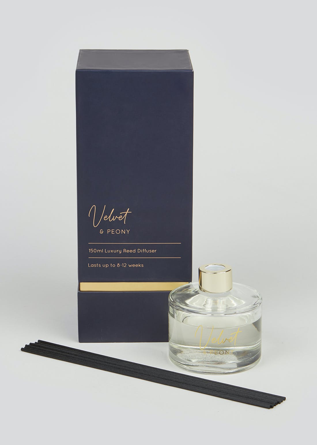 Velvet and Peony Luxury Reed Diffuser (150ml)