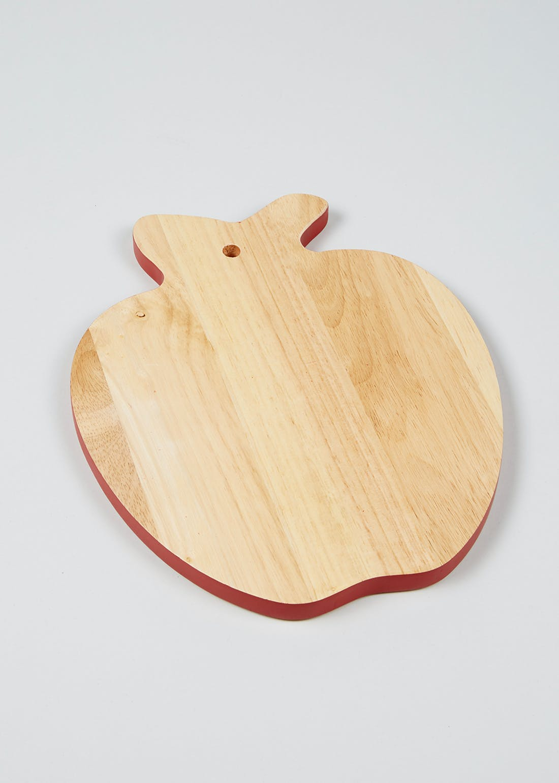 Apple Shaped Wooden Chopping Board (25cm x 20cm)