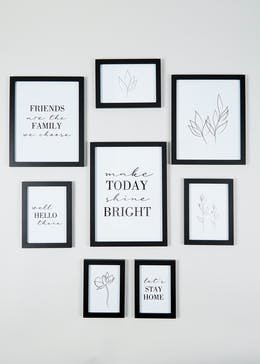 8 Pack Wall Hanging Photo Frames