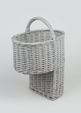 Split Willow Stair Storage Basket (53cm x 37cm x 27cm)