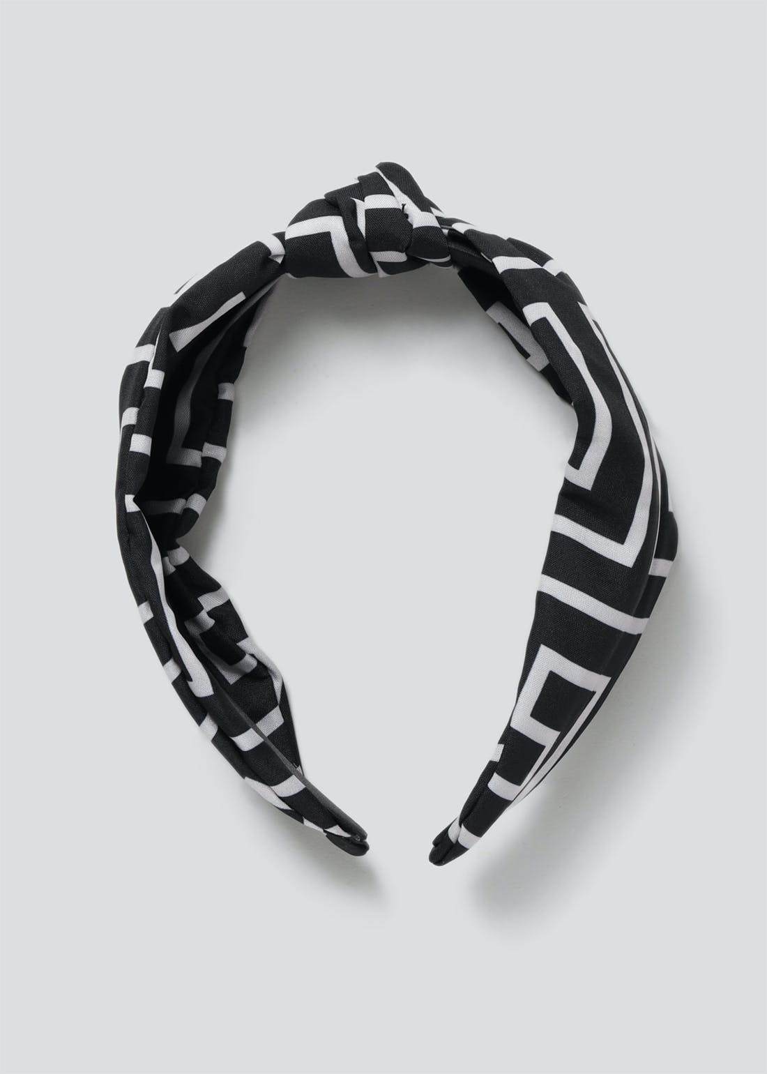Geometric Print Knot Alice Band