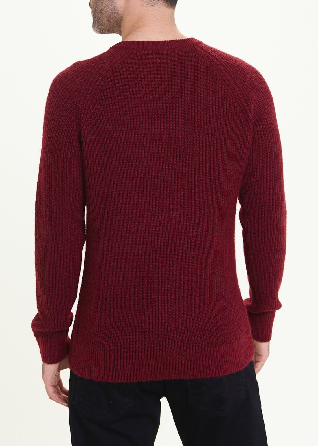 Lincoln Soft Touch Rib Knit Jumper