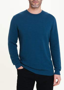Lincoln Cotton Crew Neck Jumper