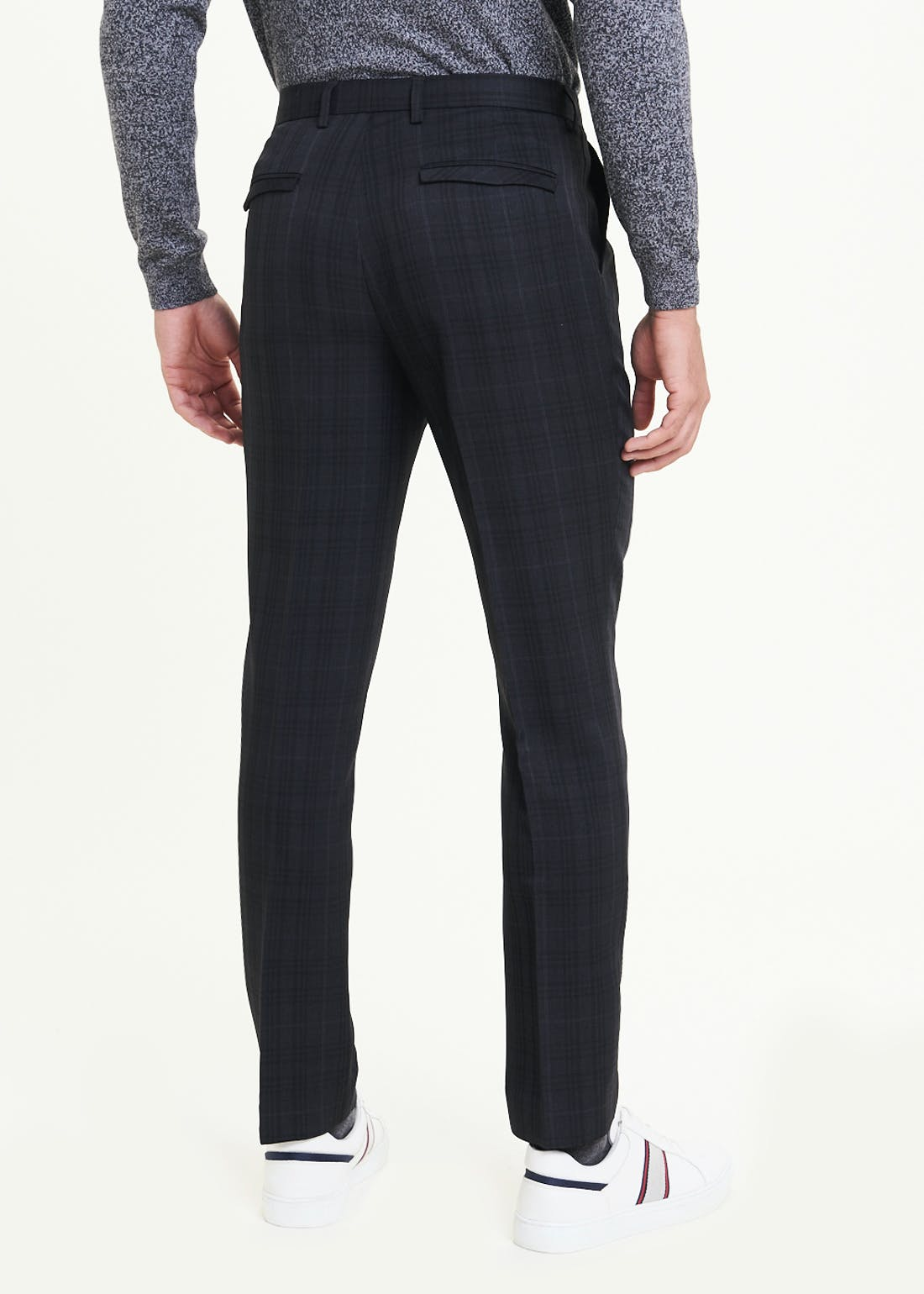 Taylor & Wright Alford Slim Fit Check Trousers