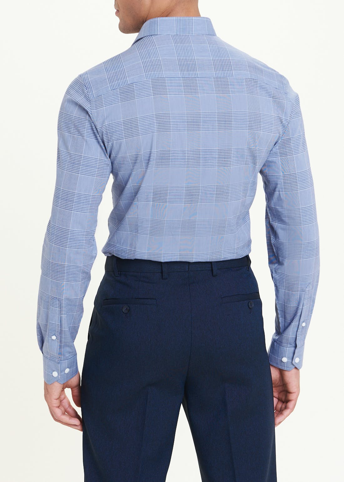 Taylor & Wright Long Sleeve Slim Fit Check Shirt