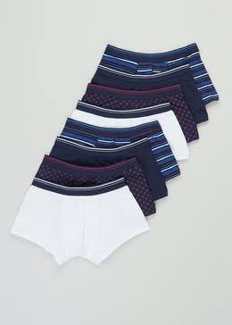 8 Pack Geo Stripe Hipsters