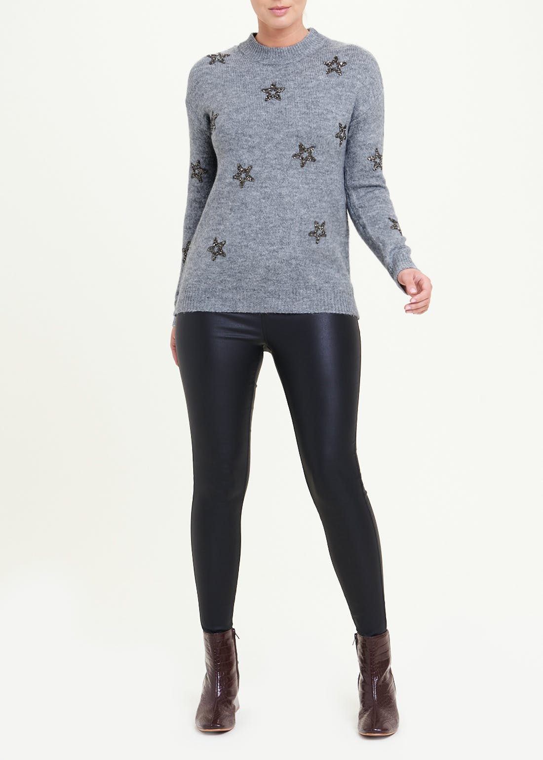 Beaded Star Jumper