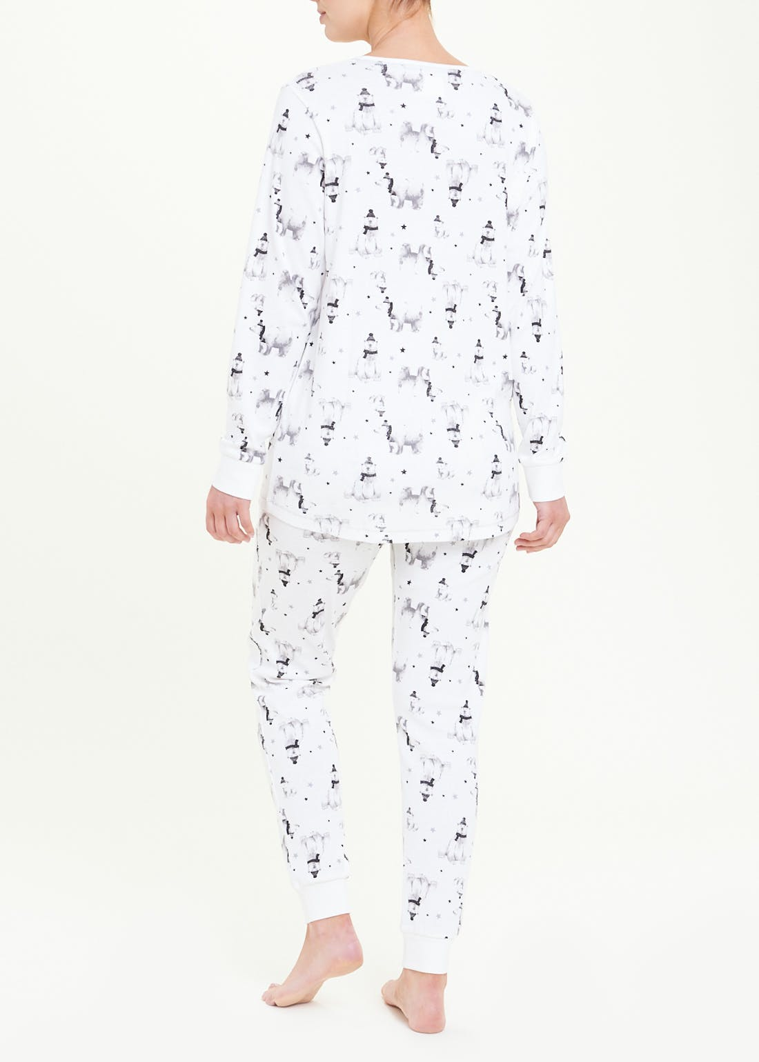 Polar Bear Print Pyjamas