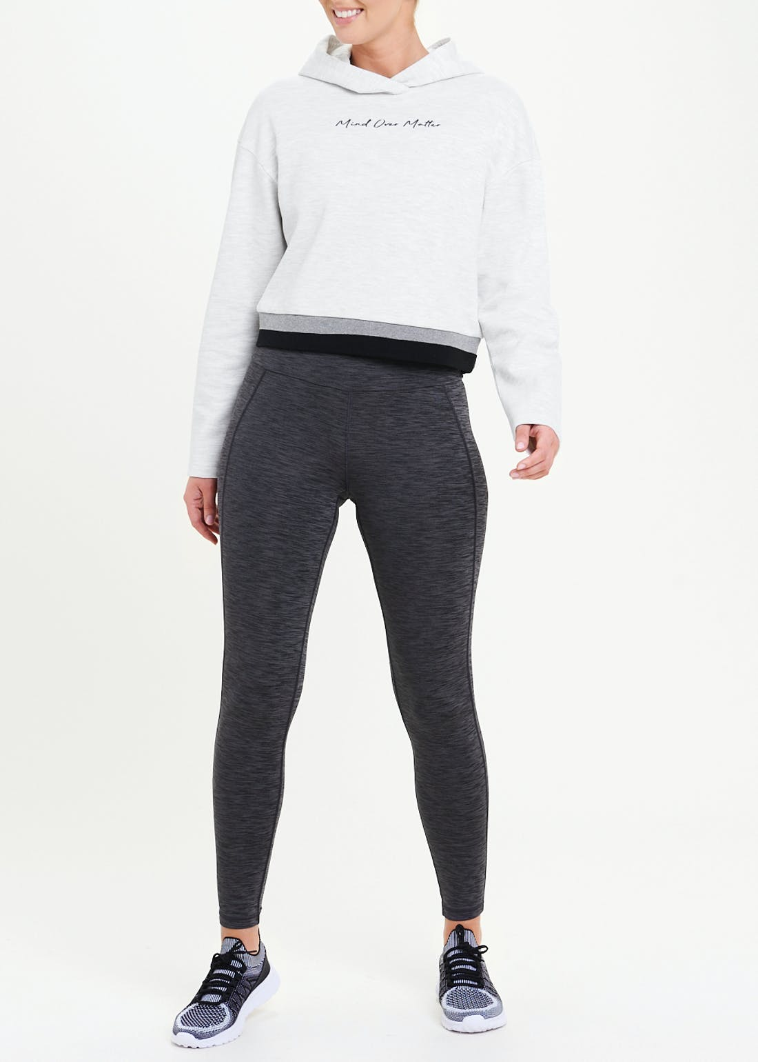 Souluxe Mind Over Matter Cropped Hoodie