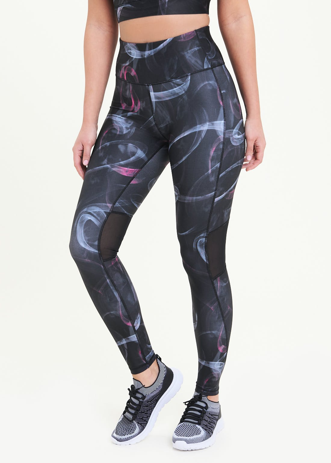 Souluxe Smoke Print Gym Leggings
