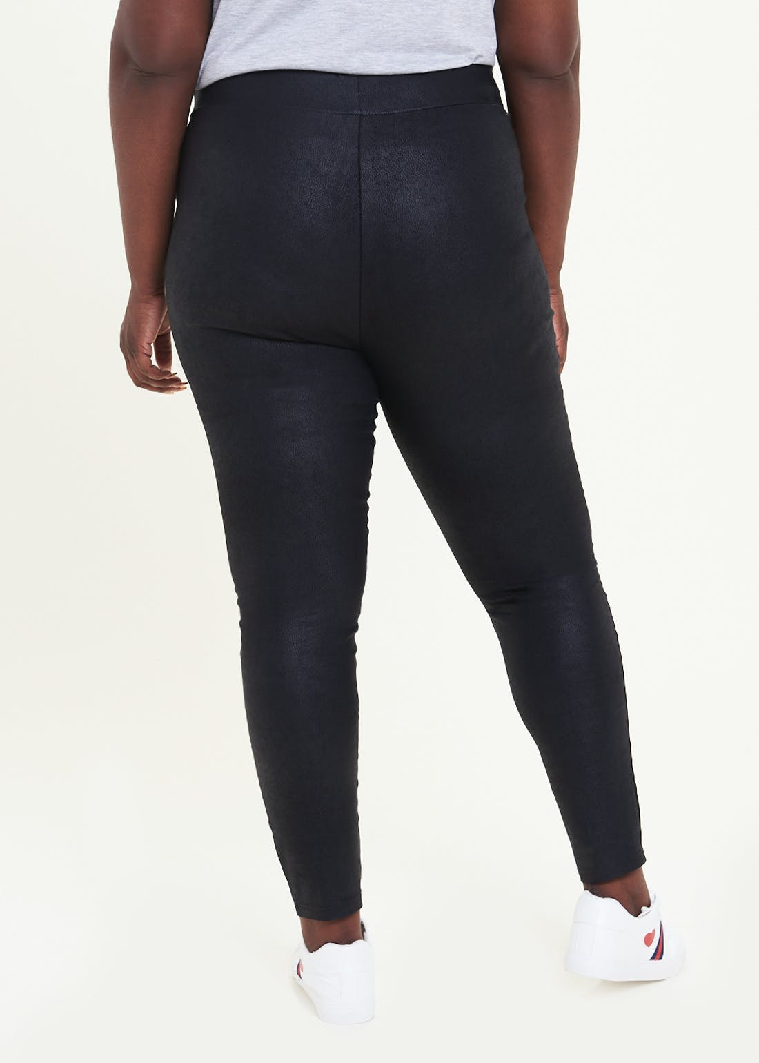 Papaya Curve Coated Leggings