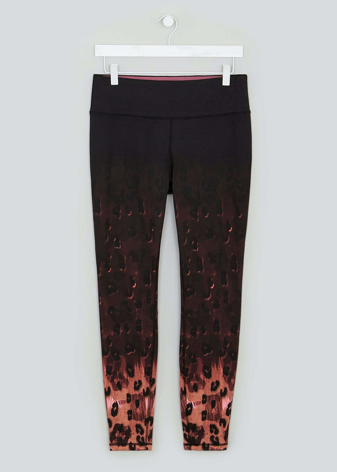 Souluxe Ombre Animal Print Gym Leggings