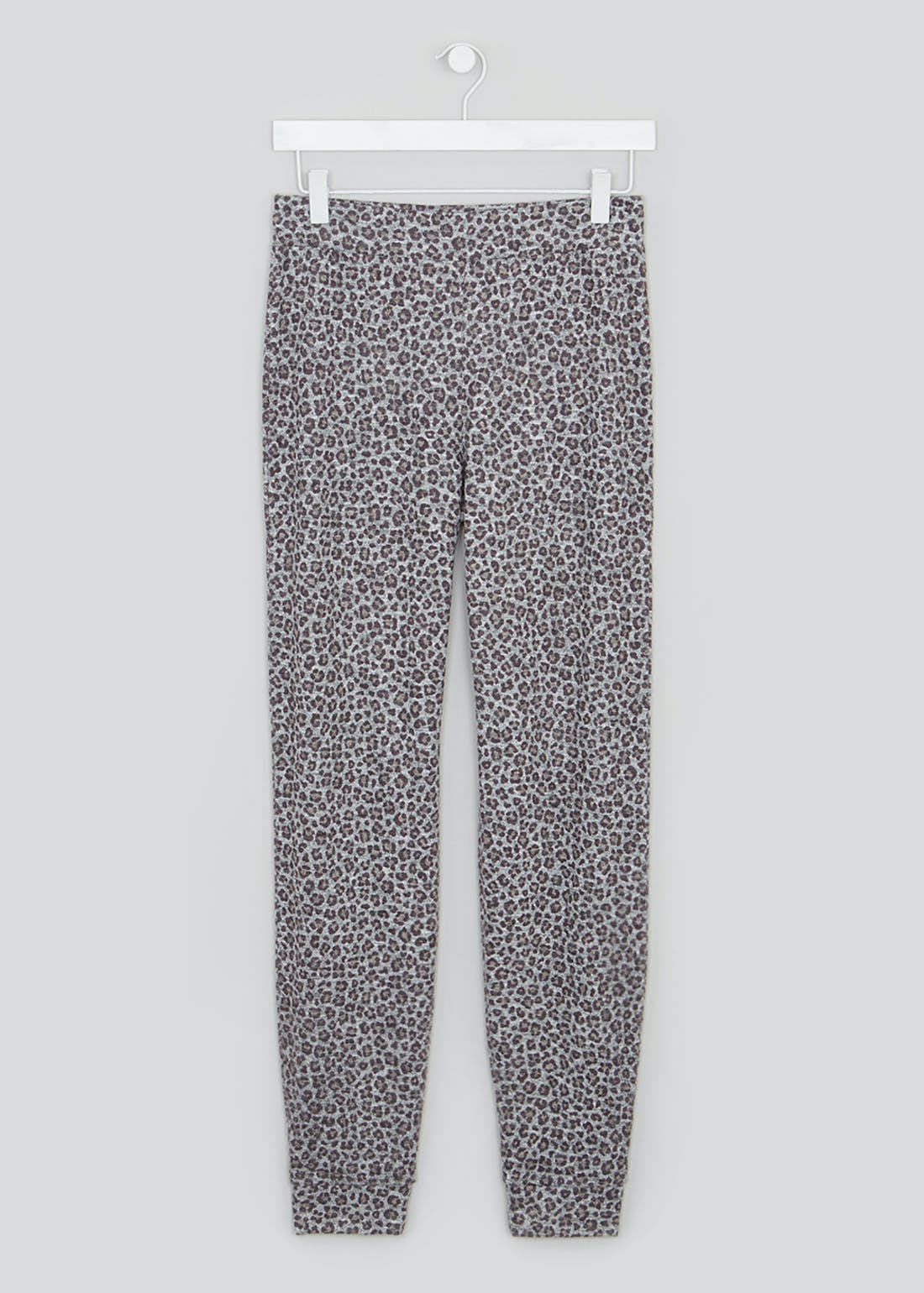 Leopard Print Soft Touch Joggers