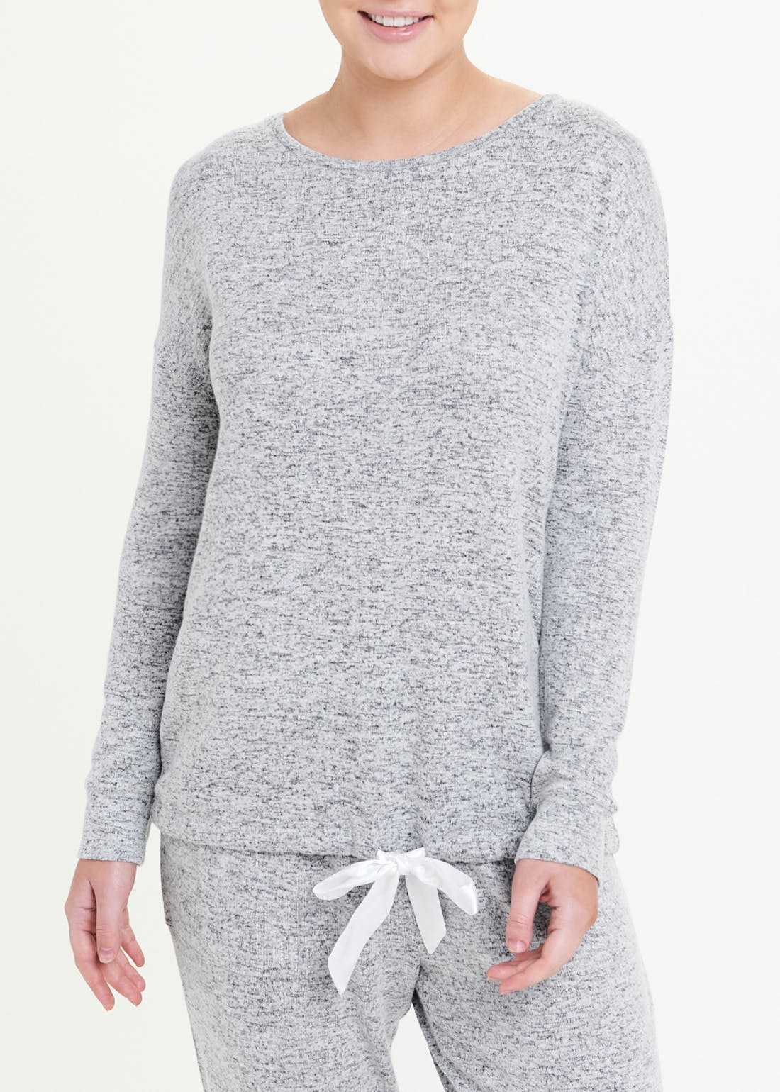 Soft Touch Knit Lounge Top