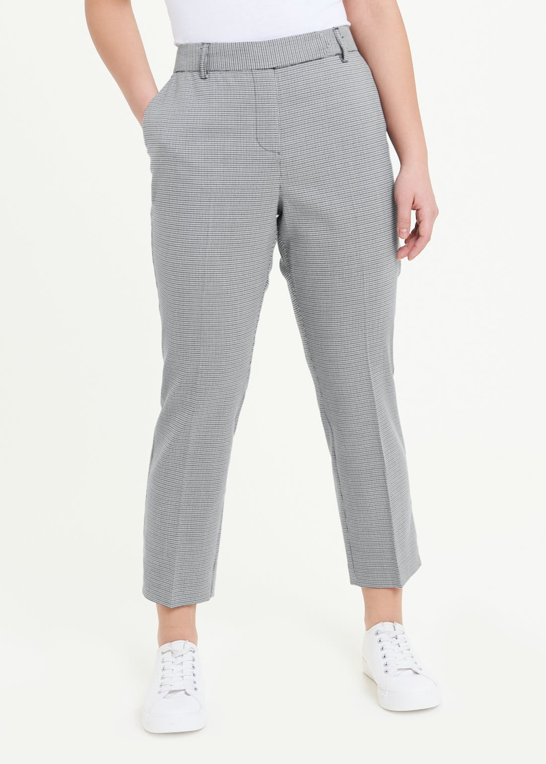 Papaya Petite Check Suit Trousers