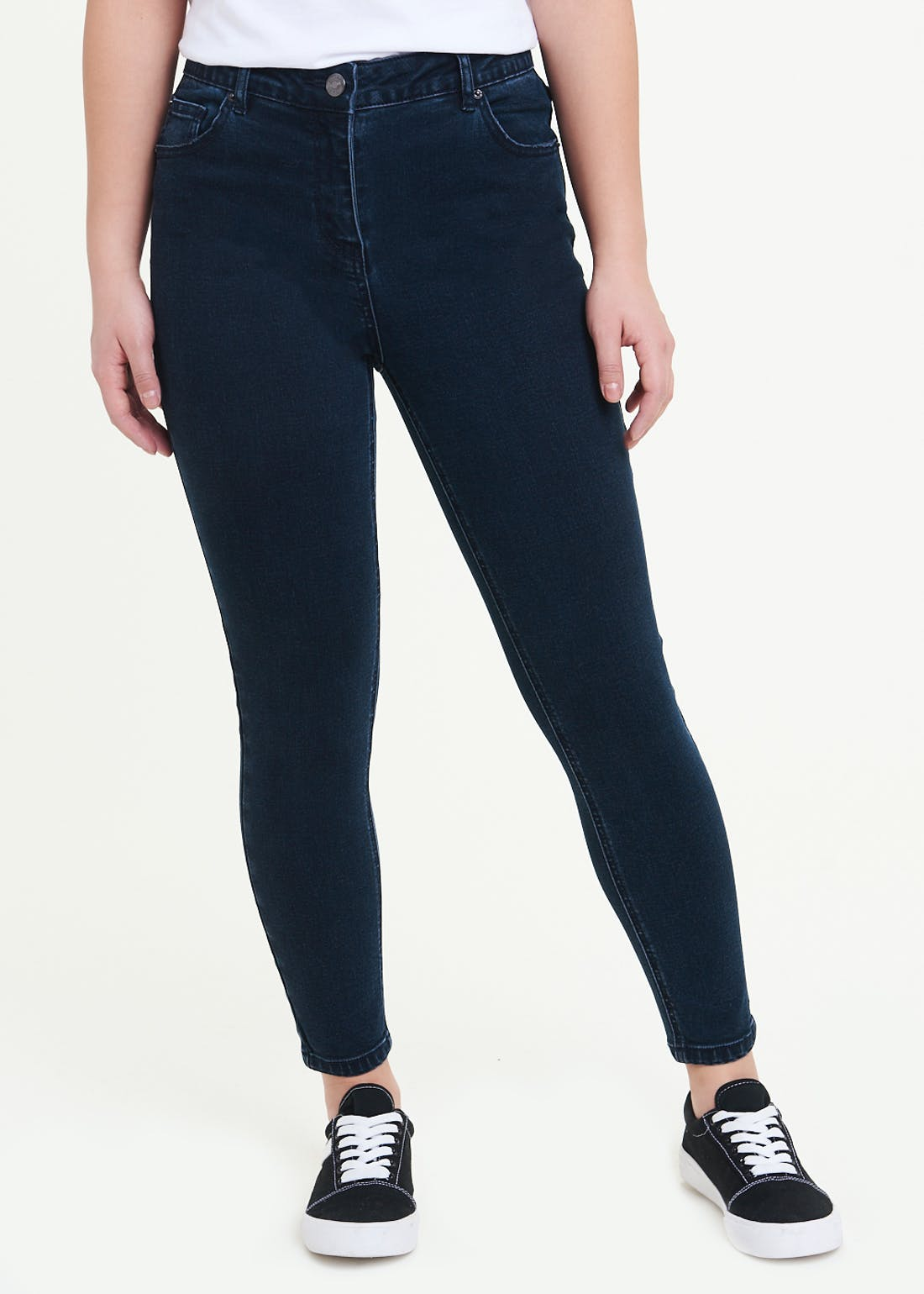 Papaya Petite April Super Skinny Jeans