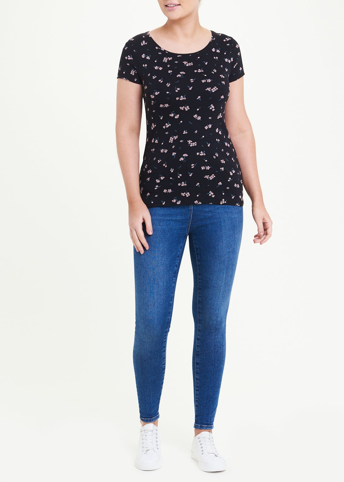 Floral Perfect Short Sleeve T-Shirt