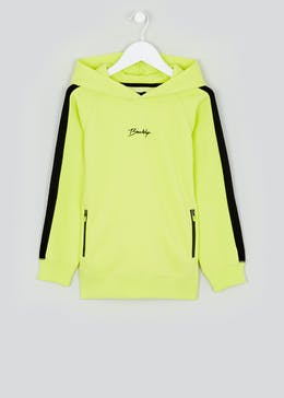 Boys Neon Brooklyn Hoodie (4-13yrs)