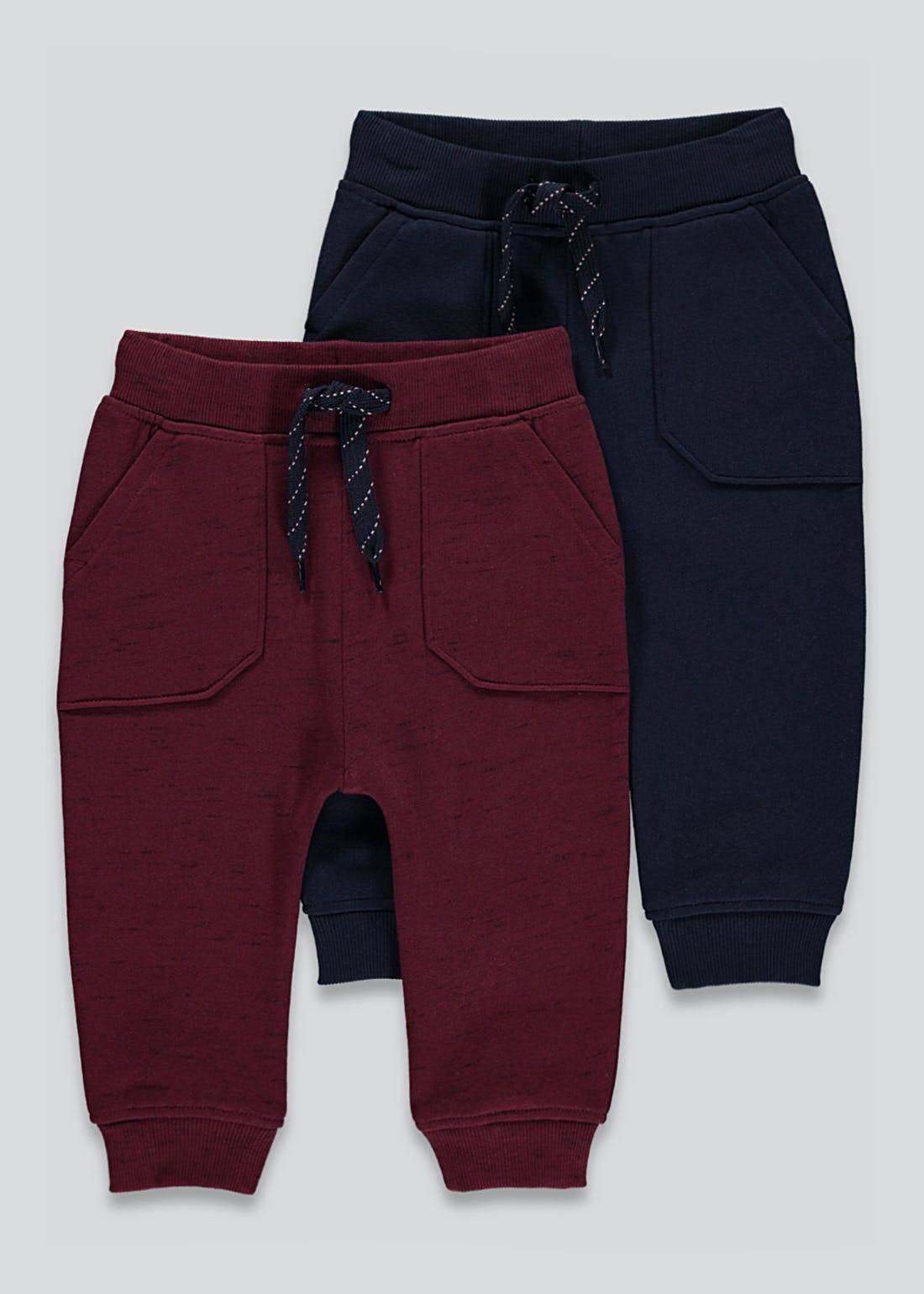 Unisex 2 Pack Joggers (9mths-6yrs)