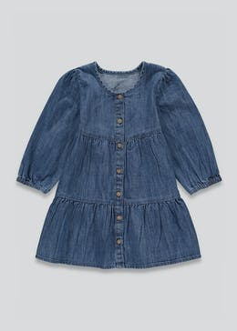 Girls Denim Tiered Dress (9mths-6yrs)