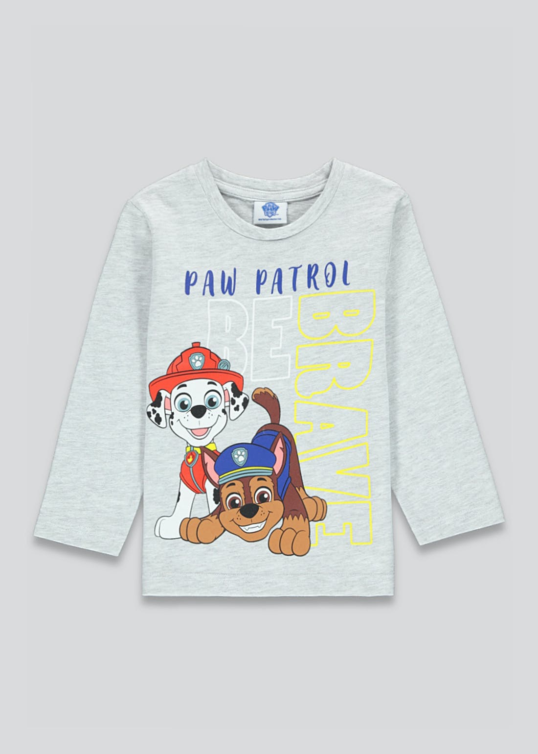 Unisex Paw Patrol Long Sleeve T-Shirt (12mths-5yrs)