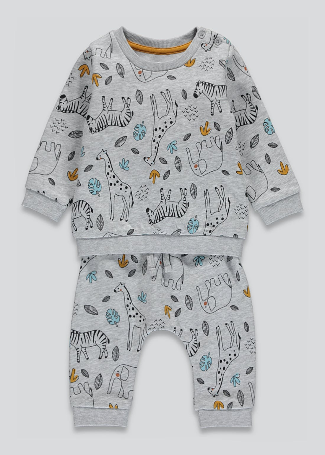 Unisex Animal Print Set (Tiny Baby-23mths)