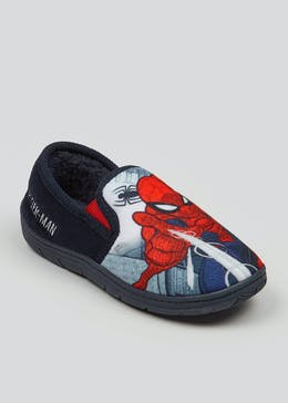 Kids Marvel Spider-Man Slippers (Younger 8-Older 2)