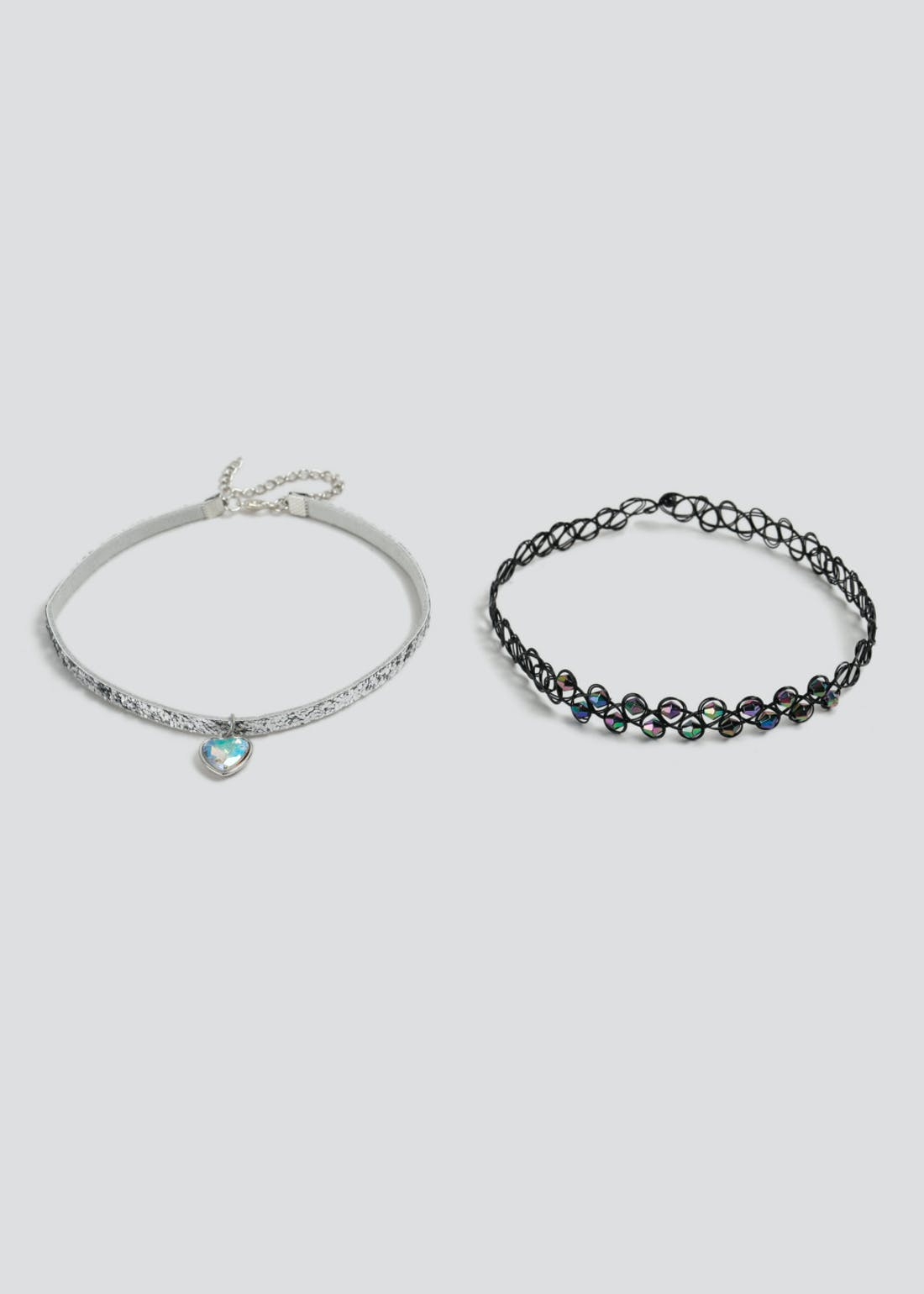 Girls Tattoo Choker 2 Pack