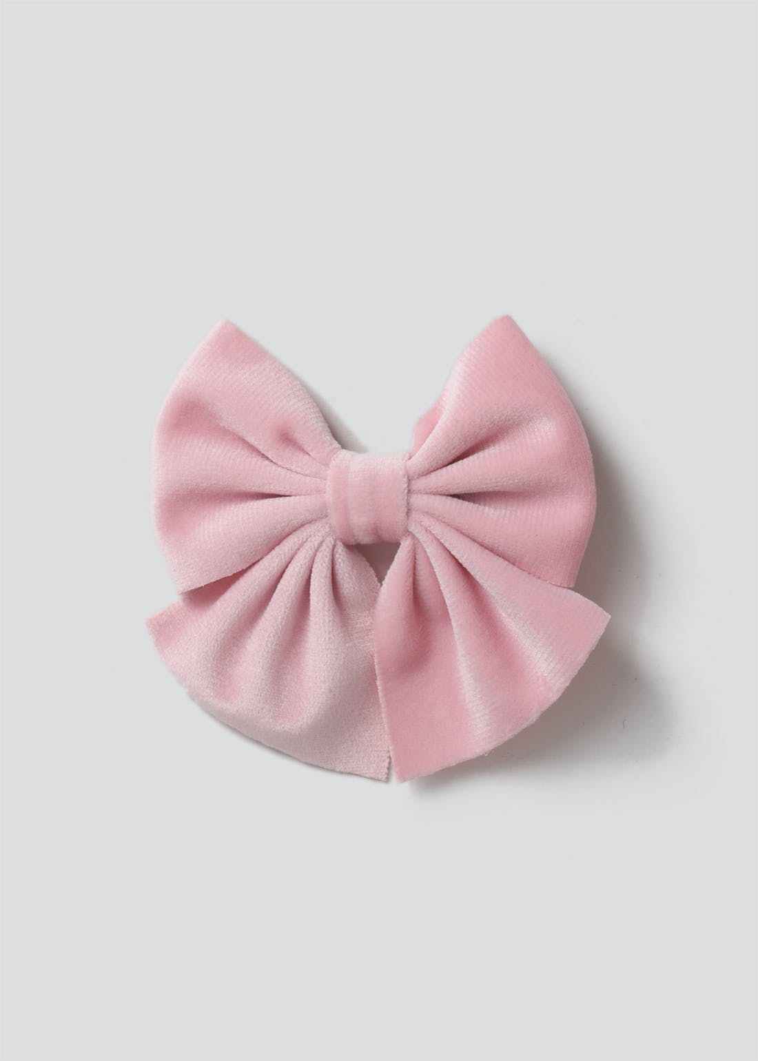 Girls Pink Bow Clip