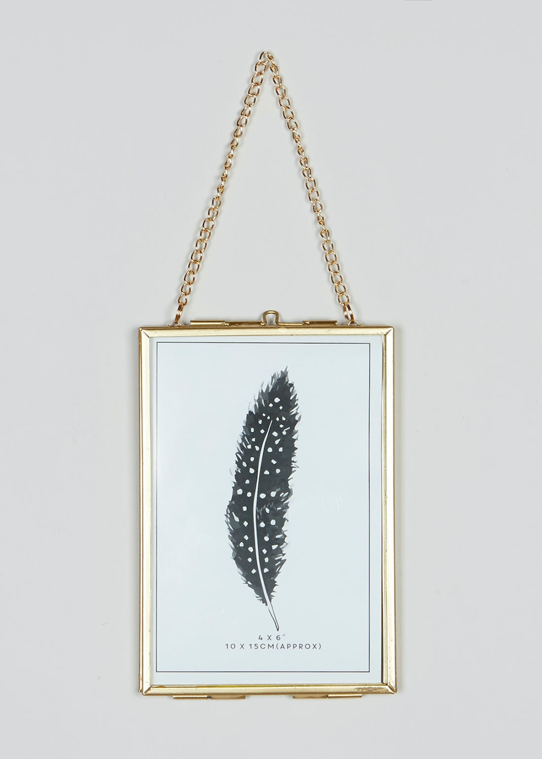 Small Hanging Metal Photo Frame (16cm x 11cm)