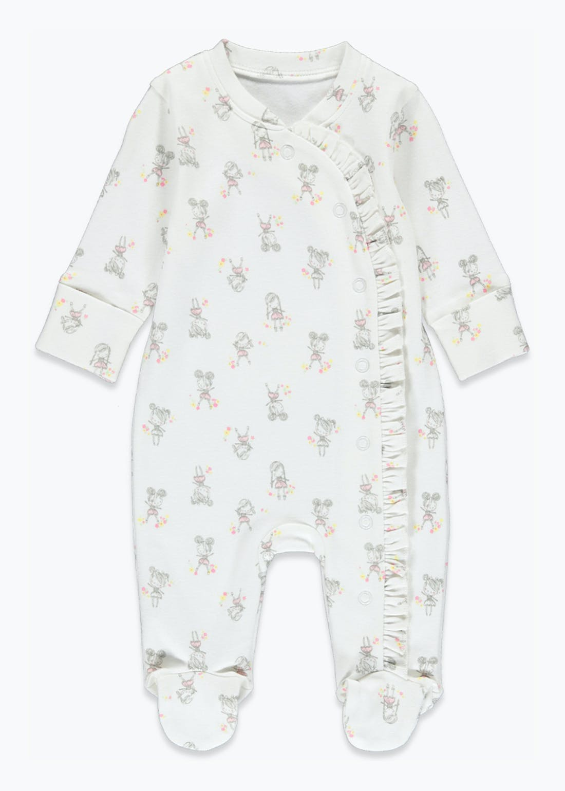 Girls Dolly Baby Grow (Tiny Baby-9mths)