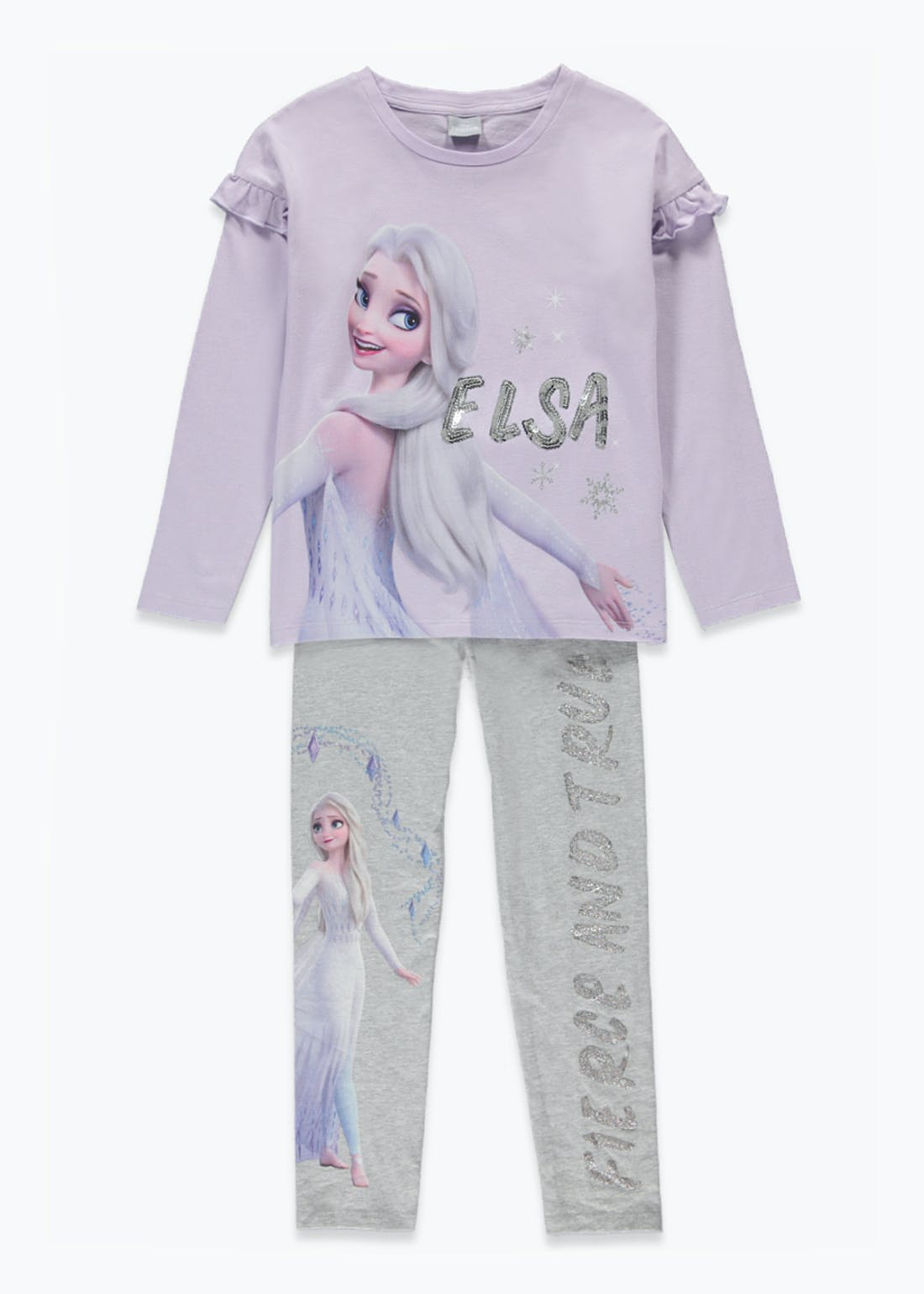 Girls Disney Frozen T-Shirt & Leggings Set (2-9yrs)