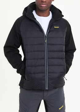 Bench Hooded Hybrid Jacket
