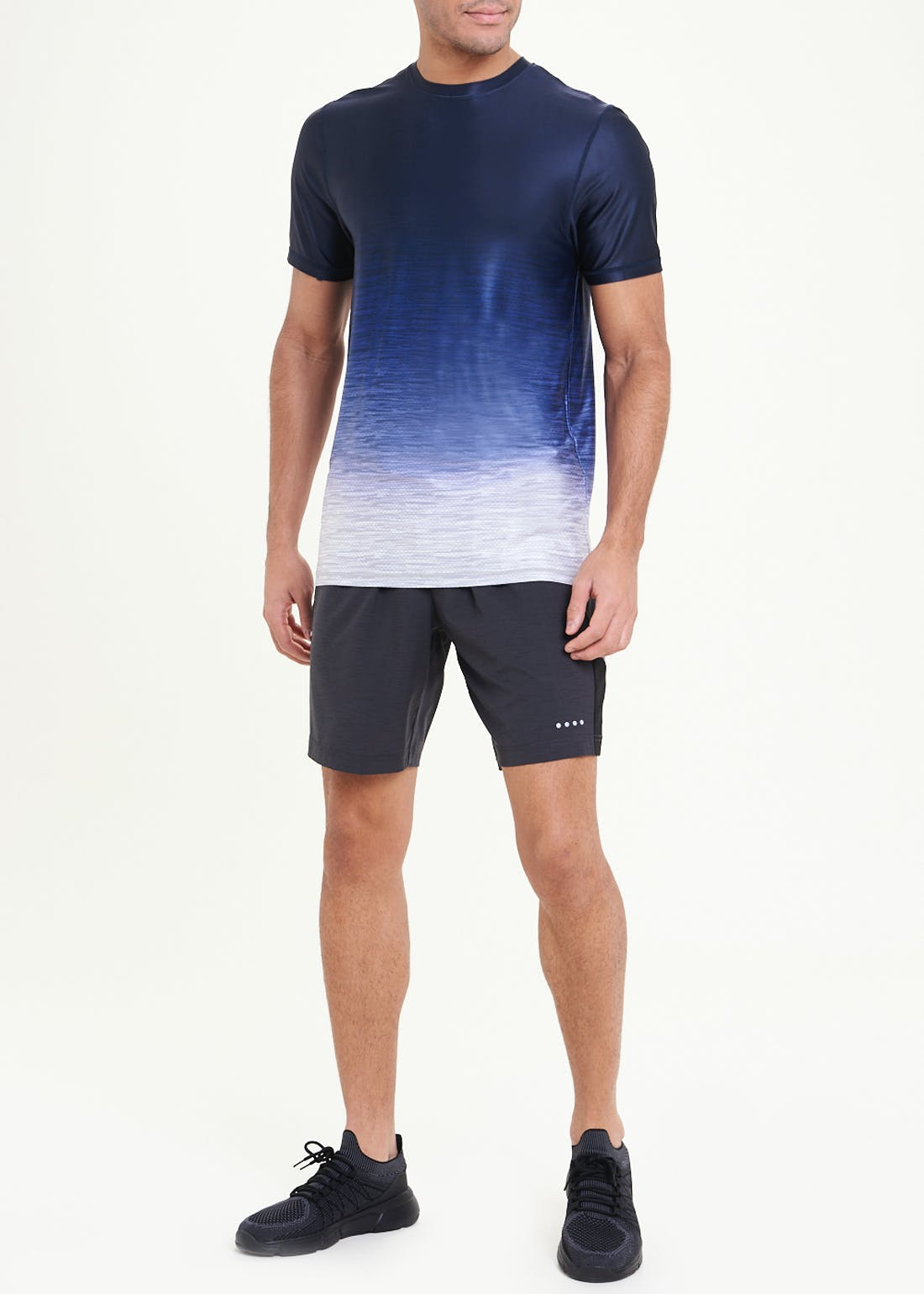 Souluxe Charcoal Woven Gym Shorts